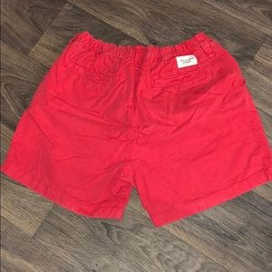 Abercrombie & Fitch Salmon-Red Shorts